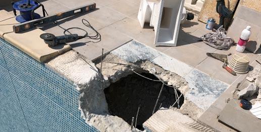 Hiver : Le moment idéal pour vos réparations de piscine