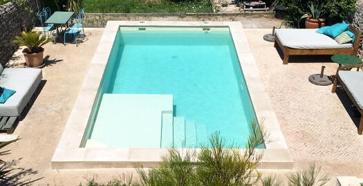 Rénovation de piscine à Aubagne