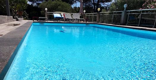 Rénovation de piscine à Cassis